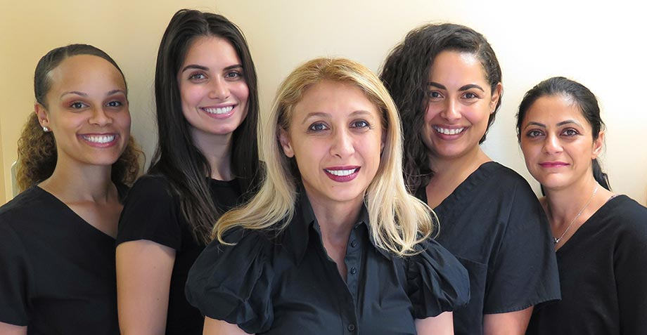 Dentist and Staff in Woodland Hills